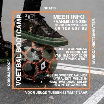 Voetbal bootcamps